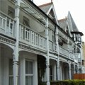 Abbingdonská ulice domy Oxford