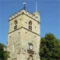 Carfax Tower léto Oxford