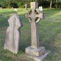 kříže — hřbitov Oxford