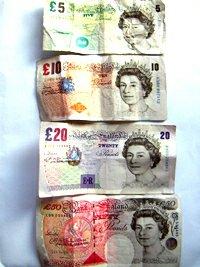 Anglické bankovky