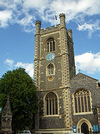 Henley on Thames St. Mary's kostel