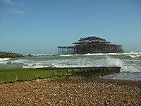 Brightonské západní molo