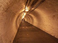 Foot Tunnel London Greenwich
