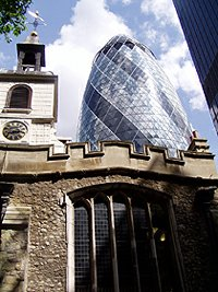 Gherkin Swiss Tower London