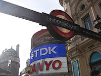 Londýn Piccadilly circus