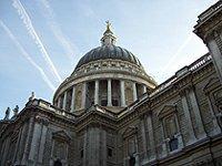 svatopetrská katedrála Londýn