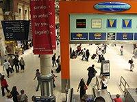 Viktorka železniční nádraží Londýn