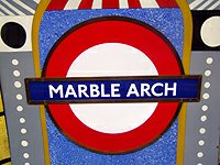 Marble Arch metro