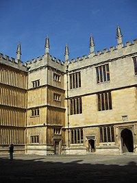 Bodleianská knihovna Oxford
