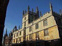 Bodleian knihovna Oxford