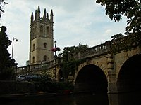 Magdalen Bridge and College