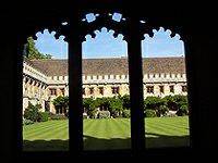 Magdalen College nádvoří