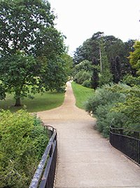 Oxford University Parks High bridge