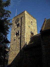 St. Michael Oxford nejstarší památka
