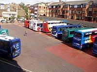 autobusové nádraží Gloucester Green Oxford