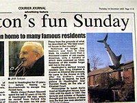 kurýrní zpravodaj, čtvrtek 1 prosince 2005