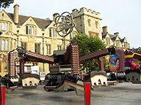 Oxford Gilesská ulice Oxford
