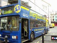 Megabus illustrativní fotka