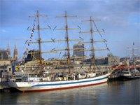 Oostende Belgie - Plachetnice