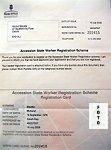 Worker Registration Certificate