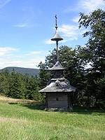 Pustevny valašská zvonice