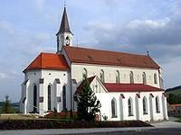 Březová kostel
