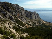 Biokovo 897 m Croatia