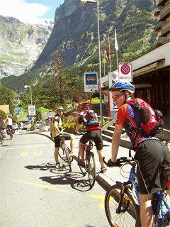 Grindelwald a Grosse Scheidegg na kole