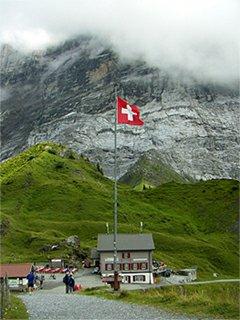 Grosse Scheidegg švýcarsko