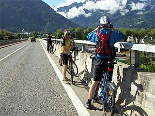 Švýcarsko Interlaken na kole