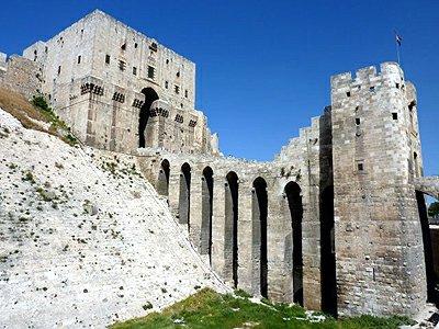 Sýrie Aleppo Citadela