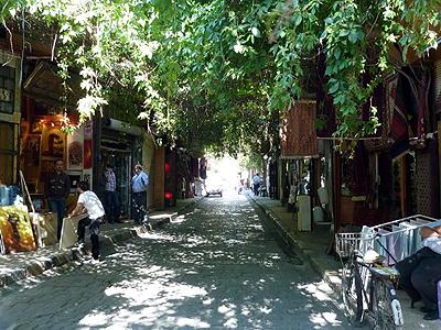 Sýrie Damašek Staré Město