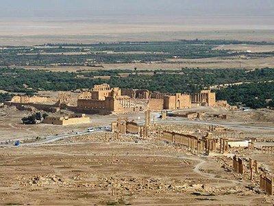 Sýrie Palmýra archeologické naleziště