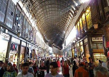 Sýrie Damašek – trh Al Hamidije