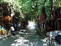 Sýrie Damasek Staré město