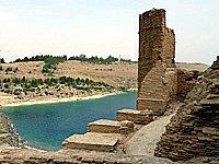Sýrie hrad Džaabar