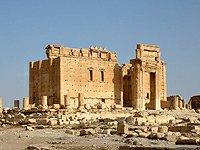 Sýrie Palmyra Belův chrám