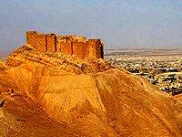 Sýrie Palmýra hrad Ibn Maan
