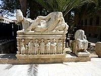 Sýrie Palmýra sarkofag