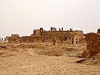 Sýrie Rasafa kostel sv. Sergeje