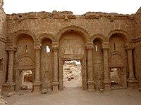 Sýrie Rasafa severní brana