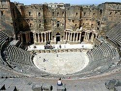 Bosra, Sýrie