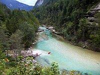 Alpská scenérie