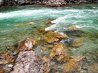 Neznečištěná kouzelná řeka