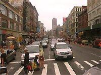 ulice město New York
