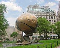 Pamatník newyorských dvojčat, obětem teroristických útoku 11 září