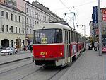 Anděl–tramvaj X-B :-)