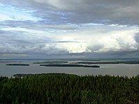 velké jezero Pielinen