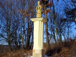 Sloup se sochou sv. Urbana Velký Ořechov