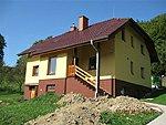 Zateplení fasády, včetně soklu, dlažby, Březnice.